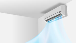 best air filter for home AC - picture of a split type aircon